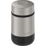 Thermos Guardian Collection Stainless Steel Food Jar - 18oz - Hot 9 Hours\/Cold 22 Hours - Matte Steel