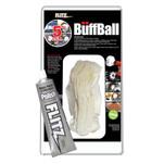 "Flitz Buff Ball - Large 5"" - White w\/1.76oz Tube Flitz Polish"