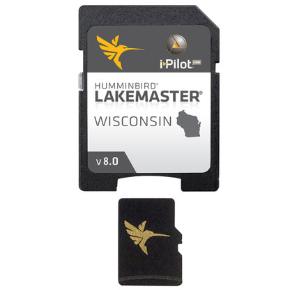 Humminbird LakeMaster Chart - Wisconsin - Version 8