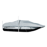 Carver Performance Poly-Guard Styled-to-Fit Boat Cover f\/21.5 Sterndrive Deck Boats w\/Walk-Thru Windshield - Grey