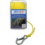 "Sea-Dog Poly Pro Anchor Line w\/Snap - 1\/4"" x 100 - Yellow"
