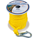 "Sea-Dog Poly Pro Anchor Line w\/Snap - 3\/8"" x 75 - Yellow"