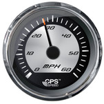 "Faria Platinum 4"" Speedometer - 60MPH - GPS - Studded"