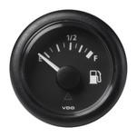 "VDO Marine 2-1\/16"" (52mm) ViewLine Fuel Level Gauge Empty-Full - 8-32V - 90-4 OHM - Black Dial  Round Bezel"