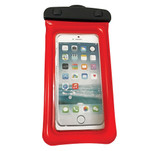 """WOW Watersports H2O Proof Phone Holder - Red 4"""" x 8"""""""