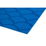 "SeaDek 40"" x 80"" 5mm Sheet Bimini Blue Brushed Fish Scale - 1016mm x 2032mm x 5mm"