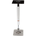 "Attwood Pedestal Kit 13"" Post 7"" x 7"" Stainless Steel Base Plate Threaded"