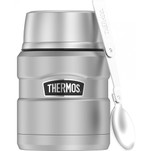 Thermos 16oz Stainless Steel Food Jar w\/Folding Spoon - 9 Hours Hot\/14 Hours Cold