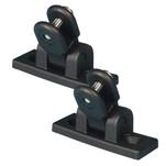 Carver Deck Hinge Nylon Pair - Black