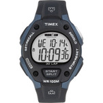 Timex IRONMAN Classic 30 Full-Size 38mm Watch - Grey\/Blue