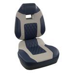 Springfield Fish Pro II High Back Folding Seat - Blue\/Grey