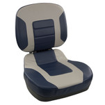 Springfield Fish Pro II Low Back Folding Seat - Navy\/Grey