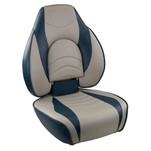 Springfield Fish Pro High Back Folding Seat - Blue\/Grey