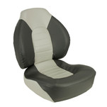 Springfield Fish Pro Mid Back Folding Seat - Charcoal\/Grey