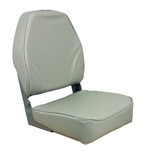 Springfield High Back Folding Seat - Grey