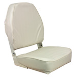 Springfield High Back Folding Seat - White