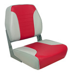 Springfield Economy Multi-Color Folding Seat - Grey\/Red