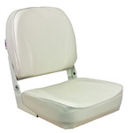 Springfield Economy Folding Seat - White