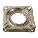 "Springfield 7"" Non-Locking Swivel Base - Stainless Steel"