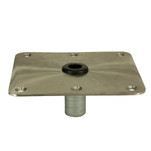 "Springfield KingPin 7"" x 7"" - Stainless Steel - Square Base"