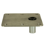 "Springfield KingPin 7"" x 7"" Offset - Stainless Steel - Square Base"
