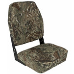 Springfield High Back Camp Folding Seat - Mossy Oak Duck Blind