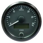 "VDO SingleViu 80mm (3-1\/8"") Tachometer - 3000 RPM"