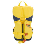 MTI Infant Life Jacket with Collar - Yellow\/Navy - 0-30lbs