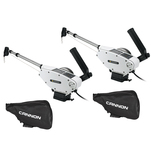 Cannon Optimum 10 Tournament Series (TS) BT Electric Downrigger 2-Pack w\/Black Covers