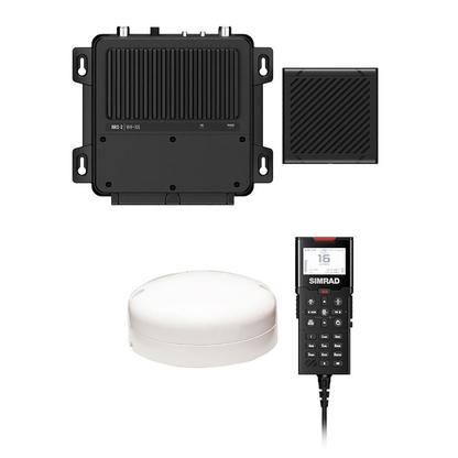Simrad RS100-B Black Box VHF Radio w\/Class B AIS  GPS Antenna