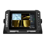 Lowrance Elite FS 7 Chartplotter\/Fishfinder with HDI Transom Mount Transducer