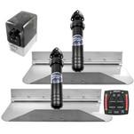 Bennett Marine 18x9 Hydraulic Trim Tab System w\/One Box Indication