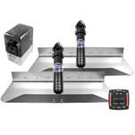 Bennett Marine 24x9 Hydraulic Trim Tab System w\/One Box Indication