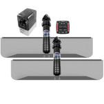 Bennett Marine 30x9 Hydraulic Trim Tab System w\/One Box Indication