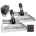 Bennett Marine 12x12 Hydraulic Trim Tab System w\/One Box Indication