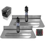 Bennett Marine 24x12 Hydraulic Trim Tab System w\/One Box Indication
