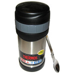 Thermos 16oz Stainless Steel Food Jar w\/Folding Spoon - 7 Hours Hot\/9 Hours Cold