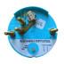"Faria Coral 4"" Tachometer 6000 RPM (Gas) (Inboard and I\/O)"