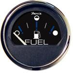 "Faria Chesapeake Black 2"" Fuel Level Gauge (Metric)"