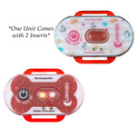 Lunasea Child\/Pet Safety Water Activated Strobe Light - Red Case, Blue Attention Light
