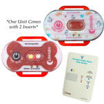 Lunasea Child\/Pet Safety Water Activated Strobe Light w\/RF Transmitter - Red Case, Blue Attention Light