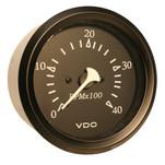 "VDO Cockpit Marine 85MM (3-3\/8"") Diesel Tachometer - 4000 RPM - Black Dial\/Bezel"