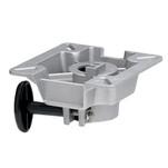 "Attwood LakeSport 2-3\/8"" Seat Mount w\/Friction Control - Aluminum"