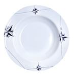 "Marine Business Melamine Deep, Round Soup Plate - NORTHWIND - 8.8"" Set of 6"