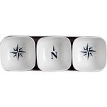Marine Business Melamine Snack Set - NORTHWIND - Set of 4