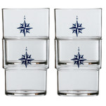 Marine Business Stackable Glass Set - NORTHWIND - Set of 12