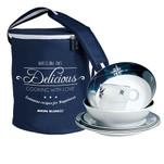 Marine Business Melamine Tableware Set  Basket - NORTHWIND - Set of 24