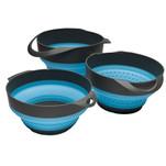S.O.L. Survive Outdoors Longer Flat Pack Bowls  Strainer Set