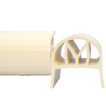 Monarch NorEaster M-Fender - 4 - White - 2 x 4 Mounting