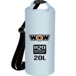 WOW Watersports H2O Proof Dry Bag - Clear 20 Liter